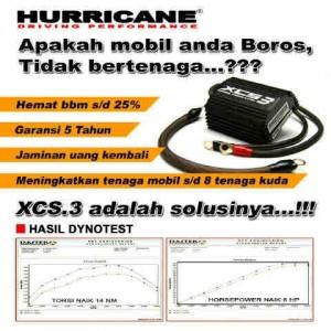 Jual Alat Penghemat BBm Hurricane XCS3 di Jakarta