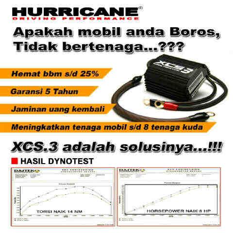Jual Alat Penghemat BBM Hurricane XCS3 di Jakarta | Arofa Noor Inriana