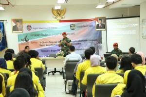 Seminar P2M Kopassus dan Mahasiswa Universitas Indonesia
