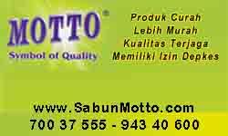 Distributor Sabun Motto Curah di Jakarta